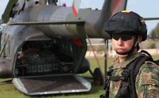 La Libertad: ejército colombiano entrega ayuda a zonas aisladas