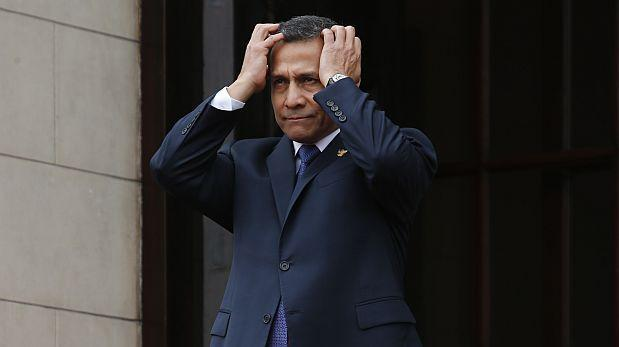 Sala ratifica que Humala debe pedir permiso para salir del país