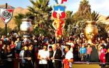 Alexis Sánchez inauguró su estatua en la ciudad de Tocopilla