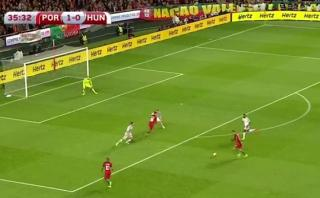 Cristiano anotó golazo a Hungría: así fusiló al portero [VIDEO]
