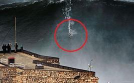 Así fue la ola más grande sobre la que se ha surfeado [VIDEO]