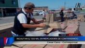 Tacna: decomisan S/ 500 mil en mercadería de contrabando