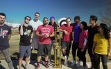 Power Rangers se enfrentaron al equipo de YouTube Dude Perfect