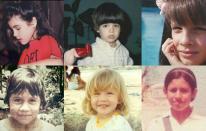 Así eran de niños los personajes más famosos de la música y TV