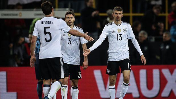 Alemania golea a Azerbayán en eliminatorias del Mundial