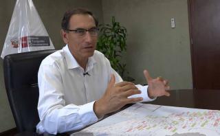 """El ministro Vizcarra afirma que no necesitamos un zar, sino """"un gestor y articulador"""" (Video: Aarón Ormeño/El Comercio)"""
