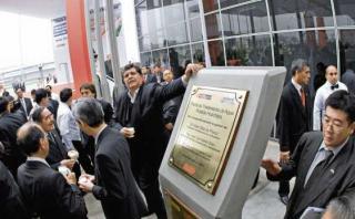 Alan García inauguró en el 2011 la planta de Huachipa. Actualmente está inoperativa pese a que costó S/820 millones (Foto: Archivo/Luis Choy)