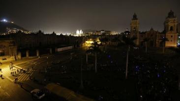 Lima y ciudades se 'apagaron' por La Hora del Planeta