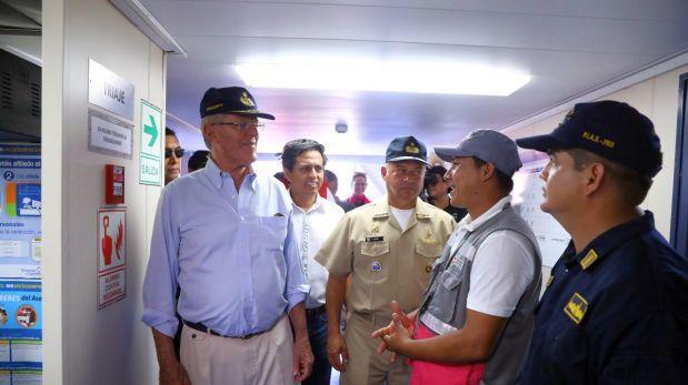 Gobierno evalúa acciones a tomar para enfrentar crecida del río Amazonas