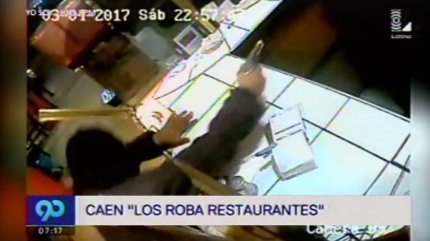 Delincuentes robaban en restaurantes y pollerías de Villa El Salvador. (Video: Latina)