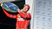 Fórmula 1: Sebastian Vettel ganó el Gran Premio de Australia