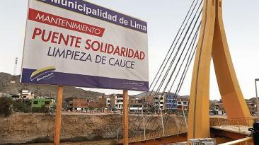 El puente Solidaridad fue construido por una empresa inexperta
