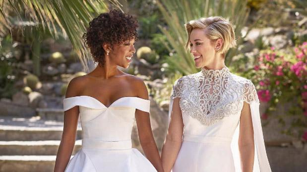 Samira Wiley y Lauren Morelli protagonizan boda de ensueño