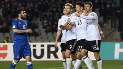 Alemania goleó 4-1 a Azerbaiyán por las Eliminatorias europeas