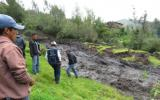 Amazonas: deslizamiento afecta a 12 familias en Imaza