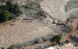 Los daños en la Carretera Central vistos desde el aire [FOTOS]