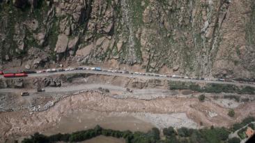 Carretera Central: restricciones seguirán hasta el 4 de abril