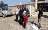 La escuela transformada en hospital de guerra en Mosul [FOTOS]