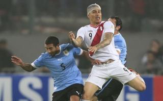 """Paolo Guerrero sobre Uruguay: """"Seguramente van a golpear"""""""
