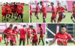 Selección peruana intensificó trabajos de cara al arco [FOTOS]
