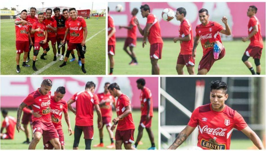 Selección peruana intensificó trabajos de definición