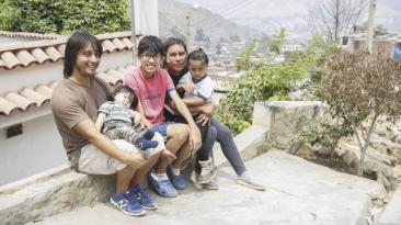 """Niño héroe de Chosica: """"Yo daría la vida por mis hermanos"""""""