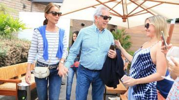 Pedro Pablo Kuczynski recibió al escritor Mario Vargas Llosa