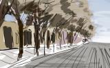 Hace cien años: Avenida Miramar