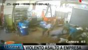 Breña: hampones robaron más de US$35 mil de empresa industrial