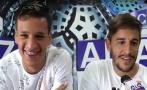 Alianza Lima: Hohberg y Godoy calentaron el Perú vs. Uruguay