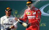 Sebastian Vettel se impuso en el Gran Premio de Australia, carrera que abrió la temporada de la Fórmula 1. (Foto: Getty Images)
