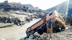 Áncash: caída de sexto huaico bloquea Panamericana Norte