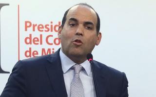 Fernando Zavala detalló que hasta la fecha hay una estimación de 3 mil millones de dólares de daños. (Archivo El Comercio)