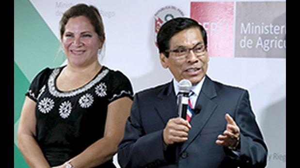 """""""Yo tengo la carta de la renuncia y la hora. Lo primero es que quería venir a Trujillo y no me dejaron"""", acusó la ex funcionaria. (Foto: Minagri/ Video: Panorama)"""