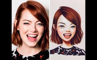 Artista dibuja impresionantes retratos de estrellas de cine