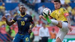 Ecuador vs. Colombia: se miden por Eliminatorias Rusia 2018