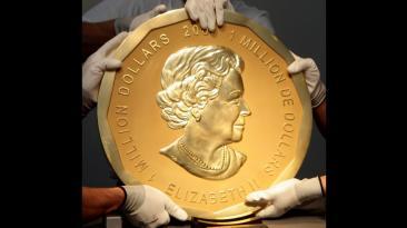 Alemania: Se robaron moneda de US$ 4 millones que pesaba 100 kg