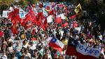 Miles de chilenos exigen terminar con el sistema de las AFP - Noticias de michelle bachelet