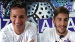 Alianza Lima: Hohberg y Godoy calentaron el Perú vs. Uruguay - Noticias de alianza lima