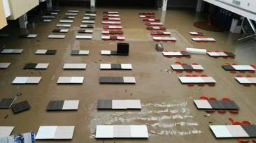 Piura: calles, casas y negocios inundados por desborde [FOTOS]