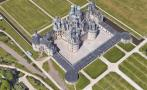 """Google Maps: castillo de """"La bella y la bestia"""" en la vida real"""