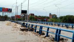 Piura: puentes son afectados por desborde de río