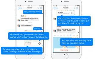 Facebook Messenger permitirá compartir tu ubicación