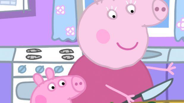 Filtran en la web videos porno de Peppa Pig