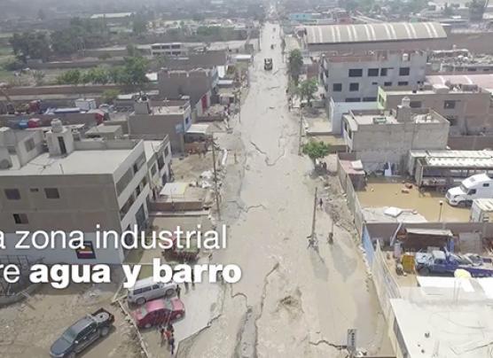 ¿Cuánto afectaron los huaicos a zonas industriales del país?