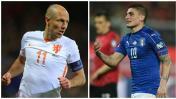 Holanda vs. Italia: juegan amistoso internacional en Ámsterdam