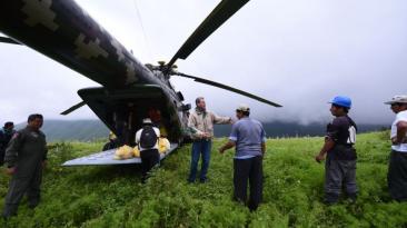Thorne lideró envío de donaciones a provincias de Lima [FOTOS]