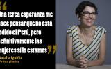 """Natalia Iguíñiz responde la pregunta de Zavalita en """"Conversación en La Catedral"""", en el cumpleaños 81 de Mario Vargas Llosa."""