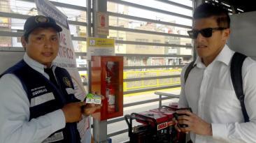 Metropolitano: pasajeros hacían uso indebido de tarjetas