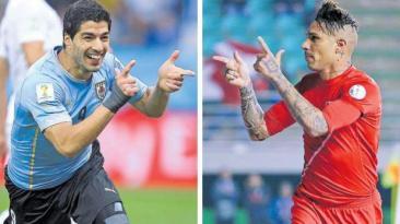 Paolo Guerrero vs. Luis Suárez: cifras de una rivalidad